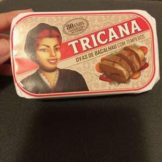 葡萄牙百年老店名產- Tricana 魚卵罐頭