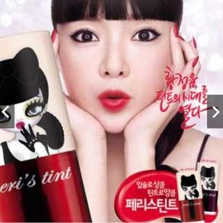 ✨年終出清✨Peripera Lip Tint唇露-cherry juice