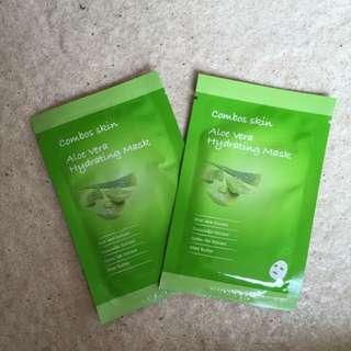 Hydrating Aloe Vera Face Masks