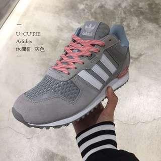 Adidas 三葉 休閒鞋 女款 2色 藍/灰
