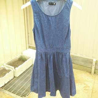 COTTON ON dark denim dress