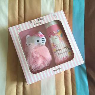 Hello Kitty Bath Kit