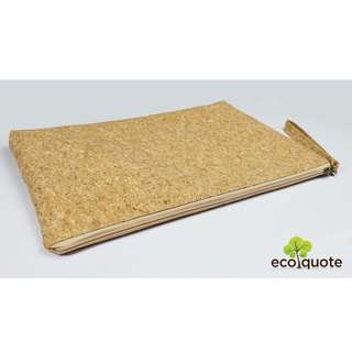 "EcoQuote Laptop Bag 14"" Handmade Cork Material"