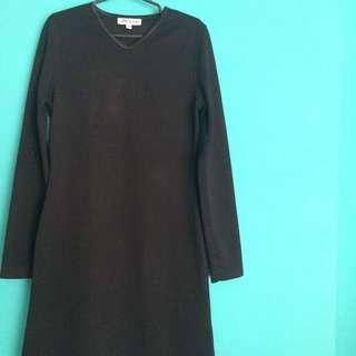 Nine To Five Black Dress