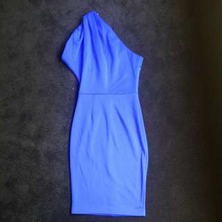 Flattering One Shoulder Dress