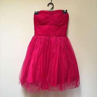 Ladies Pink Cocktail Dress