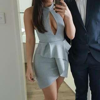 Grey Bodycon Dress