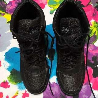 Lipstick Sneaker Wedges
