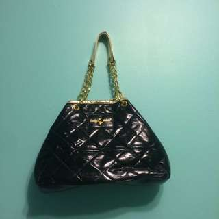 Black And Gold Baby Phat Bag