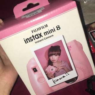 BRAND NEW!!!! Ready Stock!! INSTAX Polaroid BABY PINK COLOR