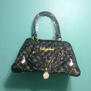 Baby Phat Black An Gold Bag