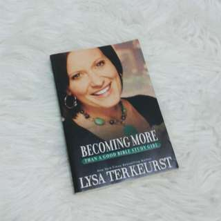 Becoming More by Lysa TerKeurst