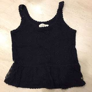Abercrombie & Fitch AF 蕾絲小可愛 Floral Lace Top