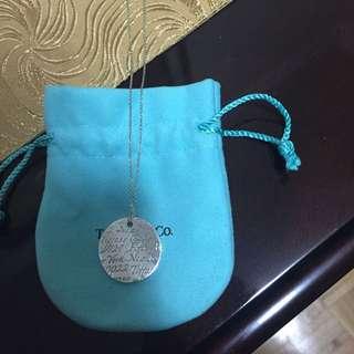 Tiffany Notes Necklace