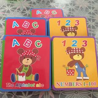 Baby Abc's And Numbers Book
