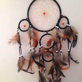 Ishka Black Dreamcatcher