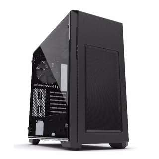 Phanteks ENTHOO PRO M TEMPERED GLASS Casing Chassis | 3 Dust Filters | 2 x 140mm Fan Included | 2 yrs Local Warranty