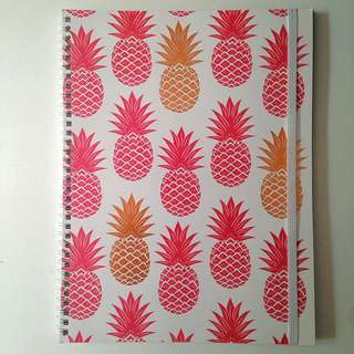 Typo Pineapple Notebook