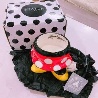 米妮造型馬克杯-正版商標
