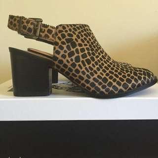 Soles Shoes Leopard Heels