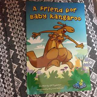 A Friend For Baby Kangaroo (Toddler Reading Book)