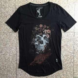 Religion London Skull Floral Tshirt