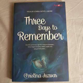 Novel Amore - Three Days To Remember