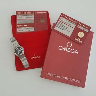 Omega Constellation Diamond 0.44carat