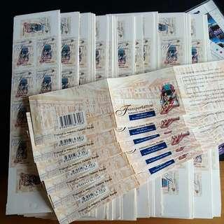 Jinrickshaw 1st Local Unused Stamps Singapore