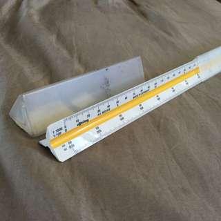 Rotring Scale Ruler (Engineering, Metric)