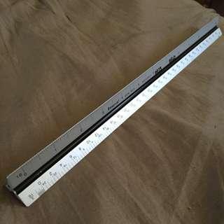 Staedtler Aluminium Scale Ruler (Architectural, English)