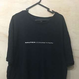 NAUTICA COMPETITION SPELLOUT TEE