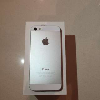 iPhone 5 64gb White/silver