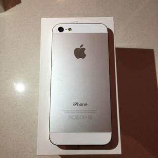 iPhone 5 32gb White/silver