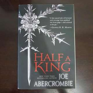 REDUCED PRICE Half A King by Joe Abercrombie