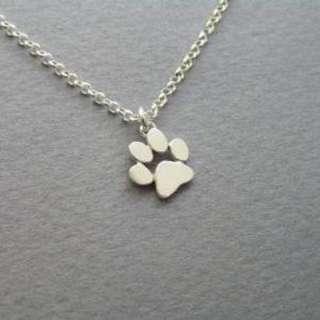 Pawprint Necklace and bracelet Set