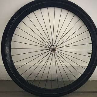 Fixie Front Rim Inclusive of Inner tube and tyre.