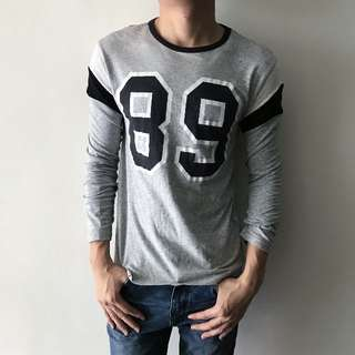 TOPMAN Long-sleeve Top