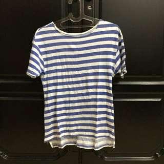 Blue Stripped Zara