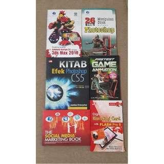 Buku Design, Game dan Social Media
