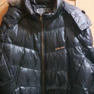 BLUE WAY 日本藍  鬼洗羽絨外套  保暖有型  原價3080  特價1200  歡迎提問~本賣場任選三樣免運費呦~~
