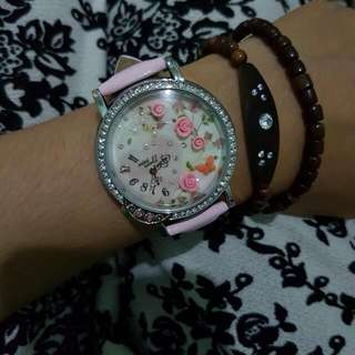 Jam Tangan Korea Mini World
