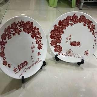 結婚紀念盤子