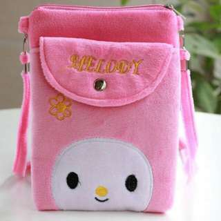 Brand New My Melody Sling Pouch