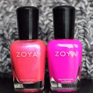 ✨SALE✨ Zoya Pink Nail Lacquer Bundle x2 Colours (New & Used)
