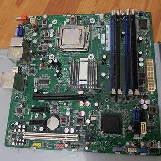 DELL IPIEL-RN2 MOTHERBOARD INTEL ATX G45. supports DDR2