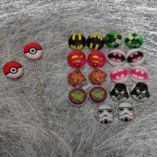 Assorted Superhero Hijappin Hairclip