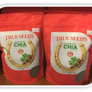 PROMO IS ON GOING!!!  NOW $28.90  Original Price $36.90  You Save $8.00 If You Buy Now.  True Seeds Australian Organic Black Chia Seeds Insecticide/Chemical FREE 500GM