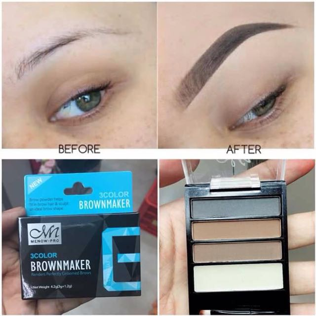 3 Color Brow Maker Preloved Health Beauty Makeup On Carousell