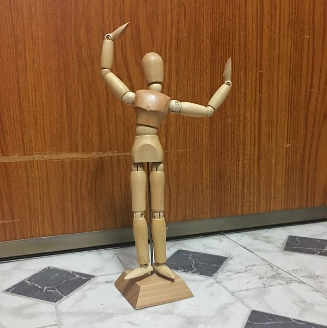 """8"""" Wooden Male Mannequin"""